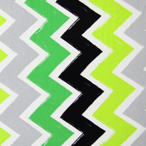 Prestigious Textiles Carnaby Ziggy lime Made to Measure Curtains