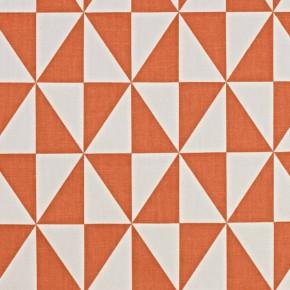 Cube Zodiac Tangerine Roman Blind