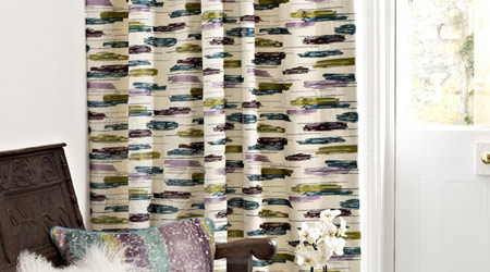 Roman Blinds and Made to Measure Curtains by Alison Campbell.
